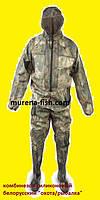 Комбинезон рыболовный 46р с рукавами и капюшоном (Пласттрейд, БелФут)