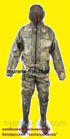 Комбинезон рыбацкий 43р с рукавами и капюшоном (Пласттрейд, БелФут), фото 2