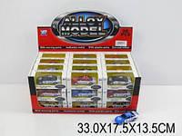 Машина металл.инерц. 9819 (876857) (12уп по 36шт/2) в коробке 33*17,5*13,5см 9819