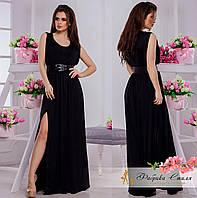 Стильное вечернее платье в пол