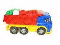 Дитячий набір іграшок: машина, конструктор 1753