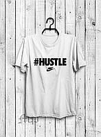 Мужская футболка Nike #Hustle