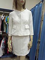 Костюм: платье и жакет от Ermanno Scervino. Оригинал.