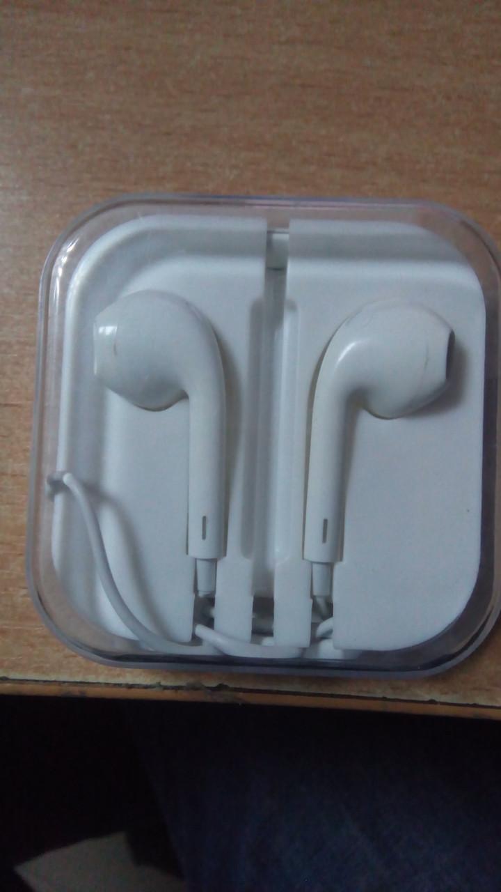 Аудіо та відіо техніка -  Навушники -  Apple Earpods   продажа fdd454da584fc