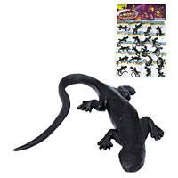 Лизуны ящерица чёрная на планшете (20) PR613