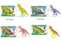 "Животные ""Планета Динозавров"" RS6163AB/4AB (16шт/2) 2 вида, звук,  в короб. 50,8*11,8*30,5см RS6163AB/4AB"