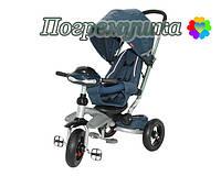 Детский трехколесный велосипед Crosser T 350 Eco - Синий