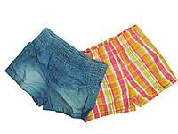 Шорты котоновые для девочек ( 2 шт.), размеры 86/92, 86/92.98/104, Lupilu, арт. 108001