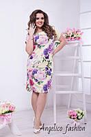 Стильное женское летнее платье хорошего качества, фото 1