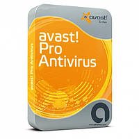 Avast Pro Antivirus Box 1 рабочий стол / 1 год