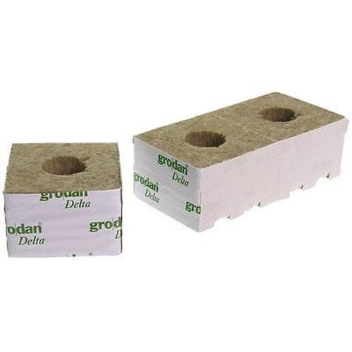 Кубики посадочные Grodan 4x4x4 cm