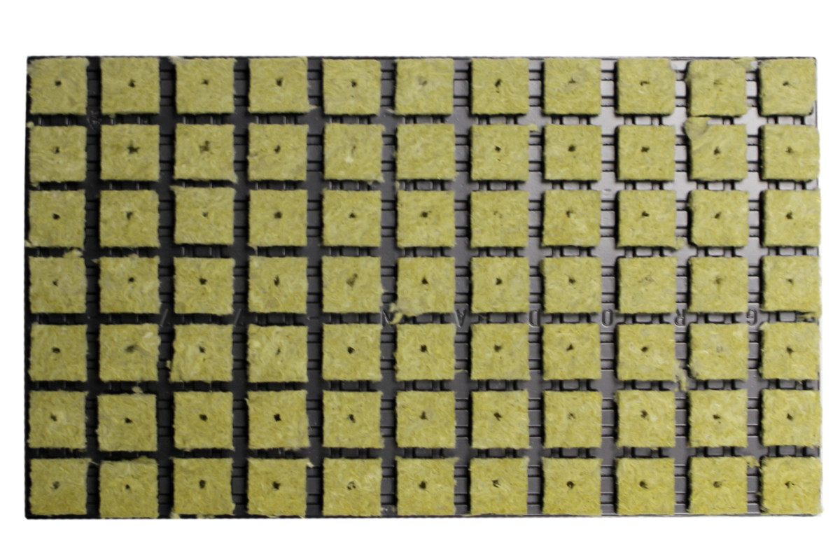 Кассета Grodan 3,5x3,5x4cm (77шт)