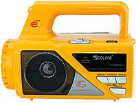 FM радиоприемник с фонарем Golon RX-660 REC, +караоке! Ручной фонарь +радио.
