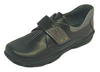 Школьные туфли на мальчика 37 натуральная кожа