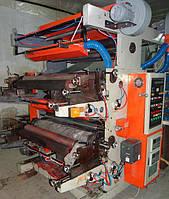Двухцветная флексографическая машина