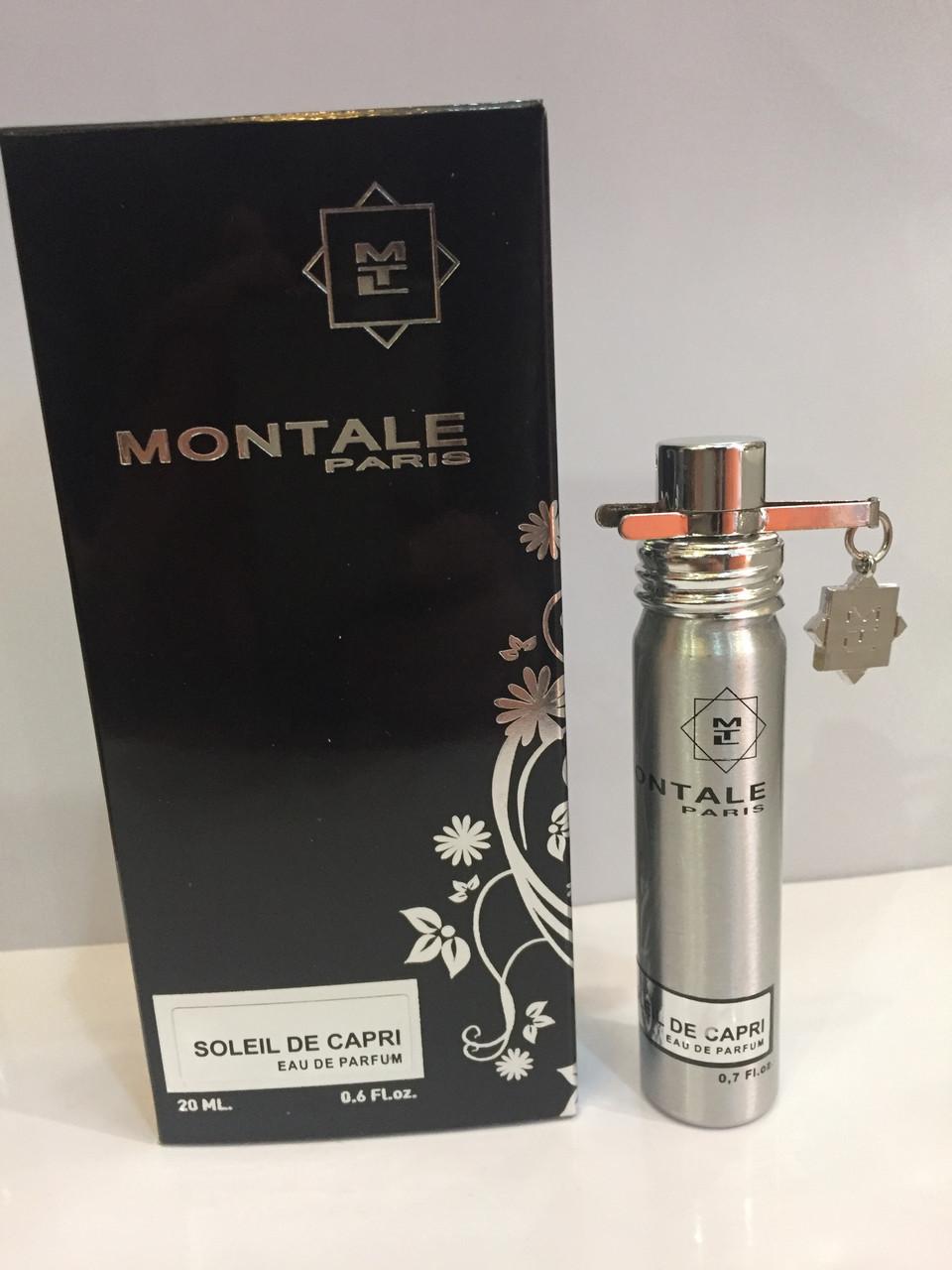 Мини парфюм унисекс Montale Soleil de Capri (Монталь Солей де Капри) 20 мл