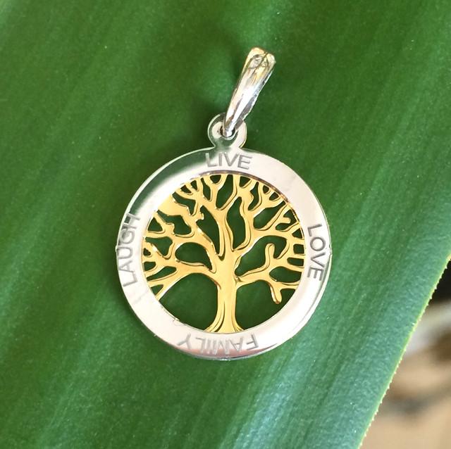 Кулон древо жизни серебро фото фото