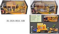 Игровой набор металл GZ3136C/138C/142C (1478988-89-1348536) СТРОЙКА (24шт/2) 3 вида, в коробке 36,5* GZ3136C/138C