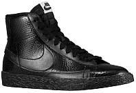 Кроссовки/Кеды (Оригинал) Nike Blazer Mid Black/Light Ash Grey/Black