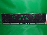 Рамка номерного знака Carlife Daewoo