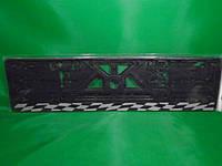 Рамка номерного знака Carlife (спорт-флаг) (подномерник) 1шт