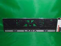 Рамка номерного знака Carlife ВАЗ Lada (подномерник) 1шт