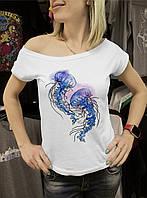 """Жіноча футболка """"Медузи"""""""
