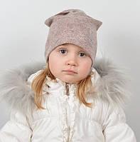 Модная шапочка пастельного цвета