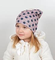 Детская шапочка в горохи