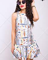 Женское платье трапеция (Наина lzn)