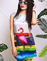 Женское платье с фламинго (Хлоя lzn)