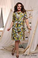 Женское летнее платье большой размер , фото 1