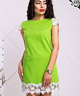Платье с белым кружевом (Лейла lzn)