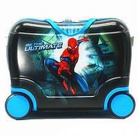 Детский чемодан на 4 колесах Spiderman 40*28*19