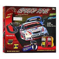 Toys Акция! Детский игровой набор трек Toys 555-5 Speed rail mini racers. Тотальная распродажа! Количество товара ограничено! (до 22.07.2017)