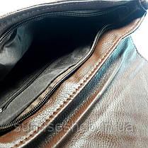 Клатч стёганный чёрный, фото 3