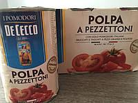 De Cecco polpa a pezzettoni Італійська томатна паста 0.400кк