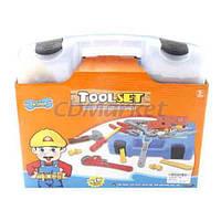 Toys Акция! Детский набор инструментов Toys 738E TOOLSET. Тотальная распродажа! Количество товара ограничено! (до 24.07.2017)