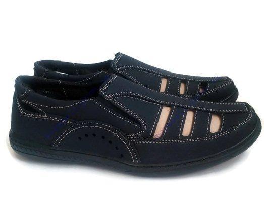 Туфли мужские летние синие