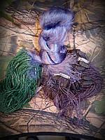Сеть рыболовная одностенная 100м х 1,8м., ячейка 40 со вшитыми грузами, для промышленного лова
