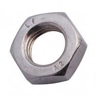 Гайка шестигранна низька, DIN 439 В, нержавіюча сталь А2, M3