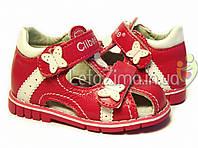 Летние сандалии для девочек р.24 стелька 15,5см , фото 1