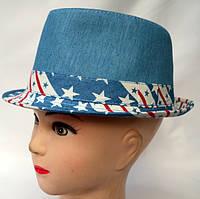 Летняя принтированая шляпа