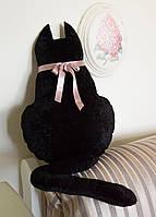 Декоративная интерьерная подушка Кот