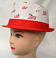 Летняя формованная шляпа