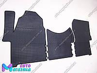 Коврики резиновые для Mercedes Sprinter II 2006- (POLYTEP LUX), фото 1