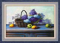 DOME LasKo Рисование камнями (5D-042) Фіолетові фантазії