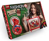 Danko Вышивка лентами Fashion Bag (FBG-01-02) Маки