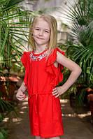 Комбинезон для девочки ODWEEK ROSE 340119 Красный 104