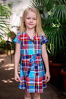 Платье для девочки ODWEEK SCOTLAND 340118  Разноцветное